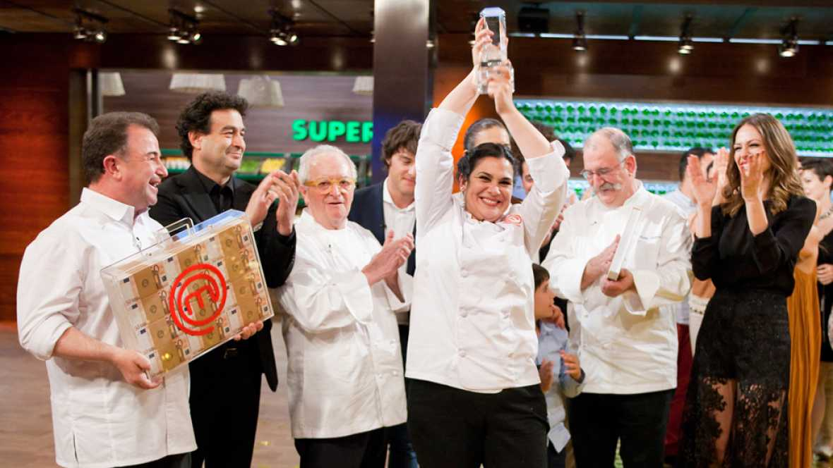 MasterChef 4 - Virginia, ganadora de MasterChef 4