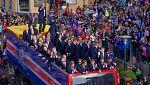 Islandia aclama a sus héroes