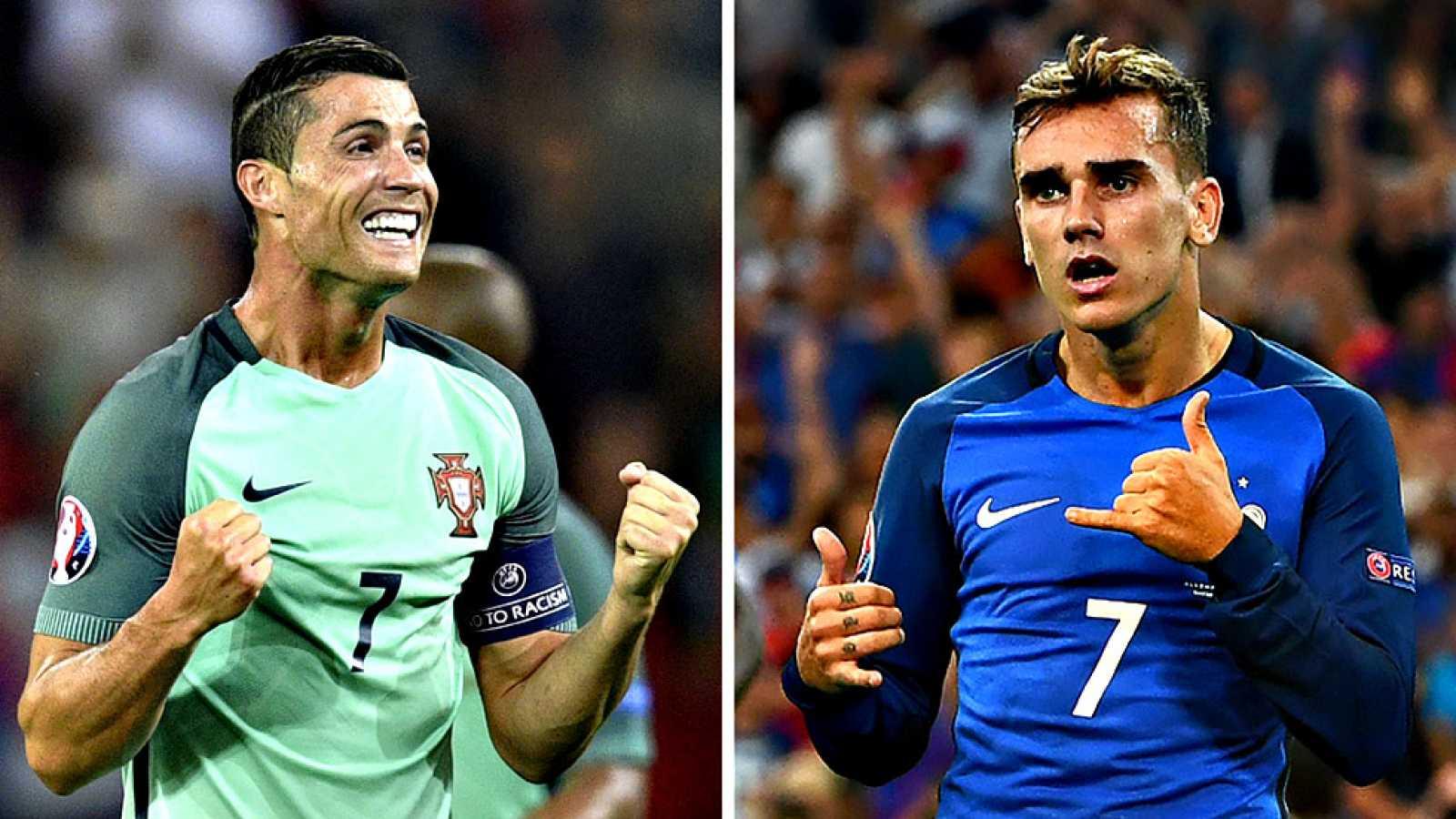 Para todos los públicos Portugal y Francia disputan este domingo la final  de la decimoquinta edición de la Eurocopa fd20a0597b4a8