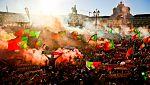 Lisboa celebra a lo grande la Eurocopa
