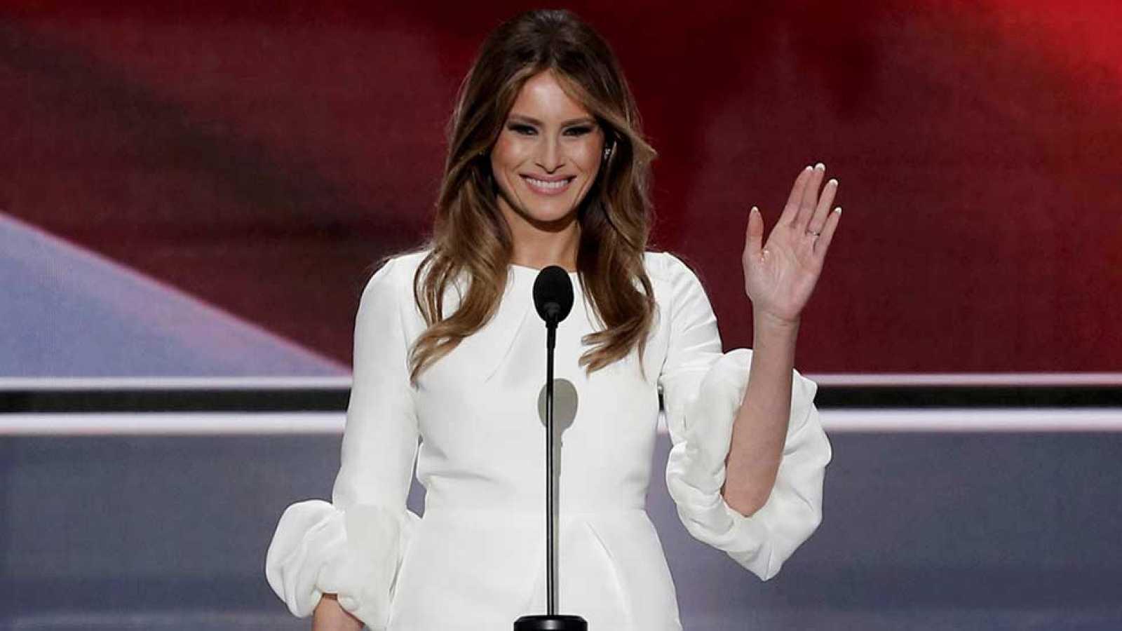 Melania Trump Acusada De Plagiar Un Discurso De Michelle Obama Durante La Convención Republicana