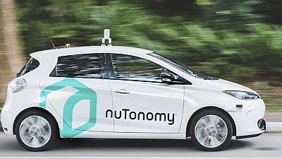 Los primeros taxis autónomos del mundo sin conductor empiezan a circular en pruebas en Singapur