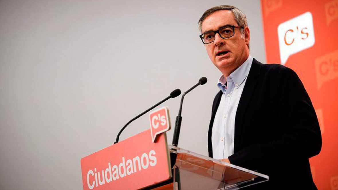 """Ciudadanos ve """"inviable"""" llegar a un acuerdo de gobierno con Podemos"""