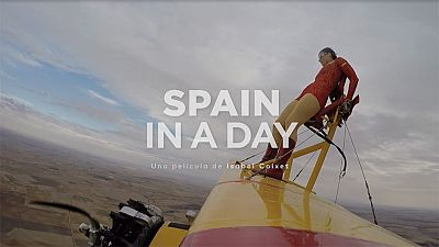 Aventuras desde el cielo en 'Spain in a day'