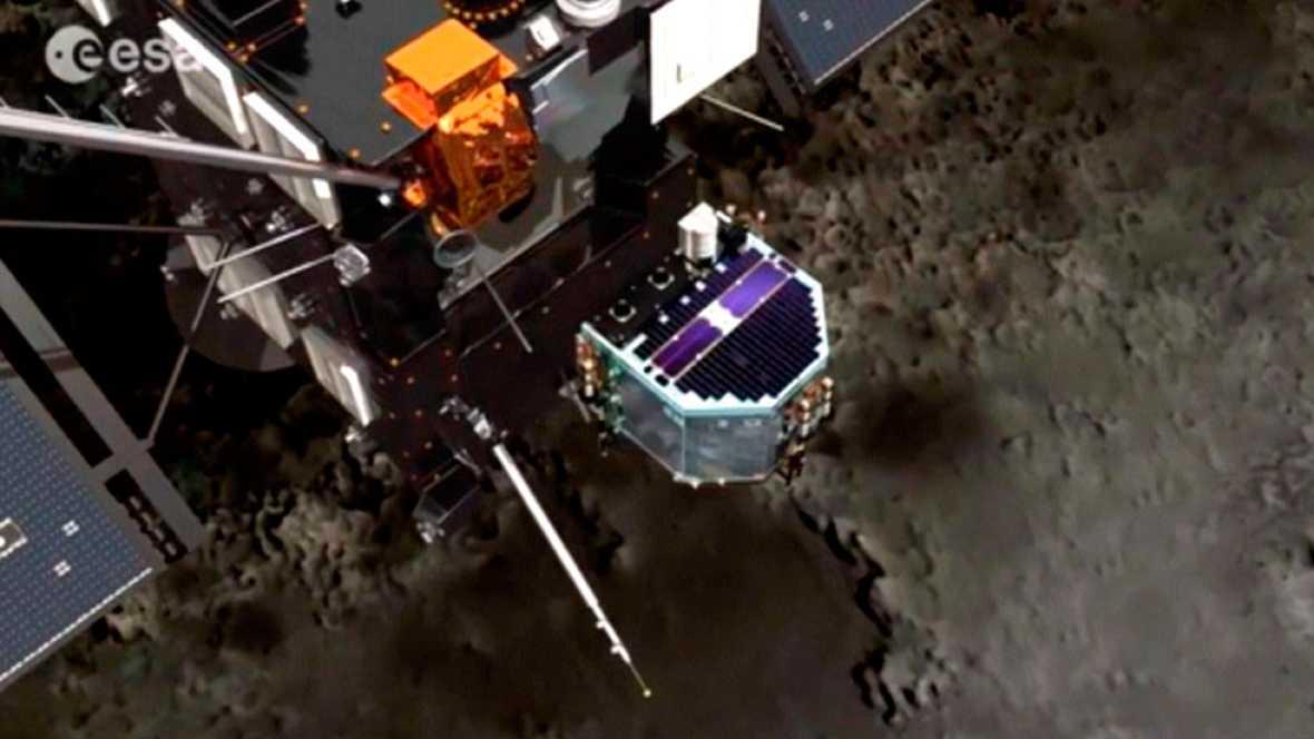 Fin de la sonda 'Rosseta' la nave ha cumplido su misión, alcanzar el cometa 67-P tras recorrer 8.000 millones de km en el espacio