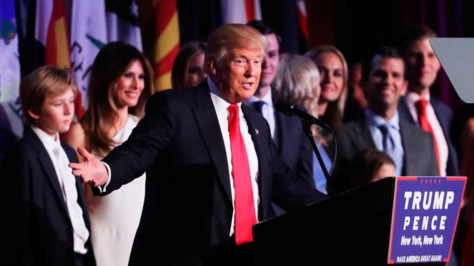 Discurso de trump proclam ndose ganador de las elecciones - La casa de los suenos olvidados ...
