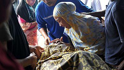Al menos 94 muertos en Indonesia tras un terremoto de magnitud 6,5