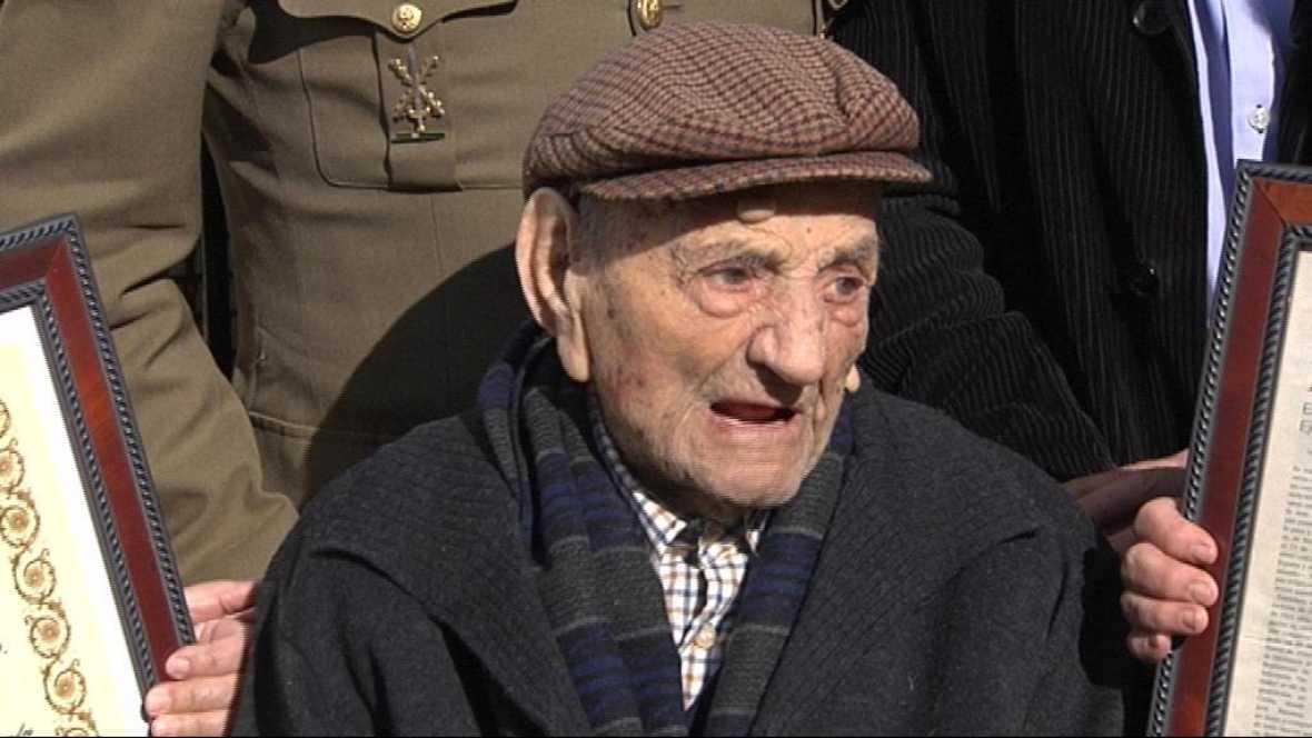 Abuelo cumple 112 años
