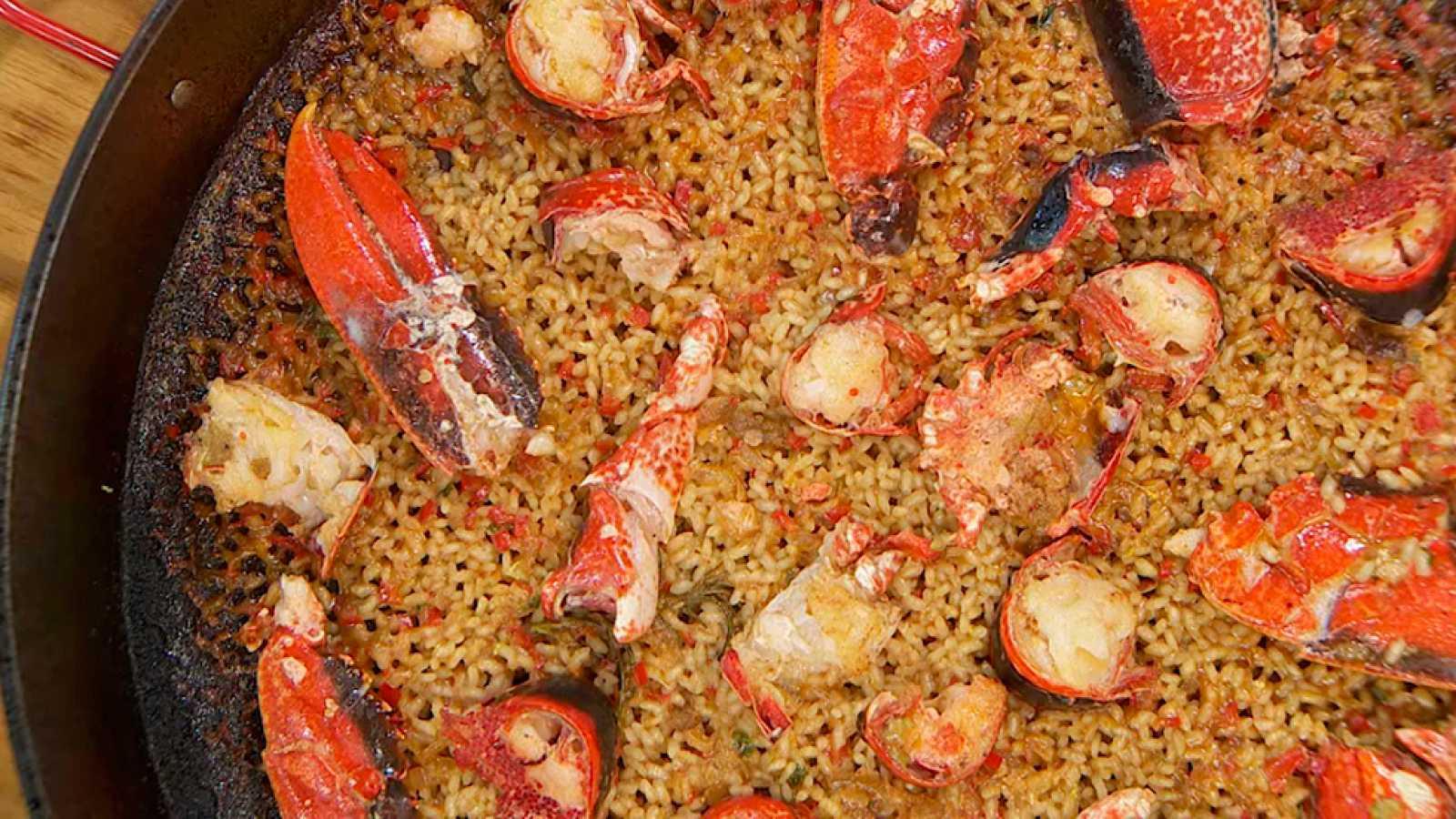 Recetas De Cocina Arroz Con Bogavante | Receta De Paella De Bogavante