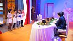 MasterChef Junior 4 - Los padres visitan las cocinas al estilo Familia Adams