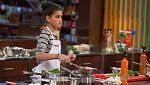 MasterChef Junior 4 - Paula lucha con el plato de Quique Dacosta