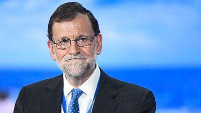 Rajoy pide que se defiendan los valores del PP