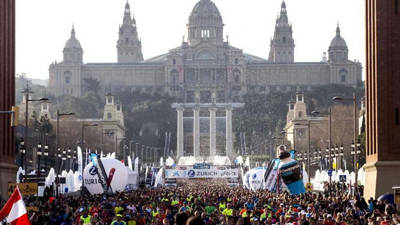 Atletismo - Maratón Barcelona 2017. Resumen - RTVE.es