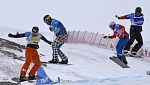 España, plata en boardercross por equipos en Sierra Nevada