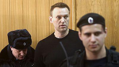 Condenan al opositor ruso Navalny por la manifestación no autorizada contra la corrupción del Kremlin