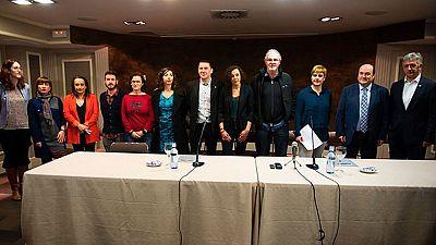 Sindicatos y partidos vascos y navarros, salvo el PP y UPN, apoyan el desarme de ETA
