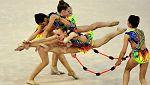 Gimnasia rítmica - Campeonato de Europa Concurso I Clasificación Individual/Equipos Mazas y Cinta (1)