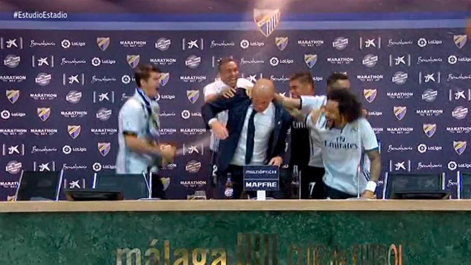 Zidane Se Lleva Una Sorpresa En La Rueda De Prensa