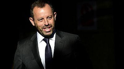 Detenido el ex presidente del Fútbol Club Barcelona, Sandro Rosell, por el presunto blanqueo de capitales