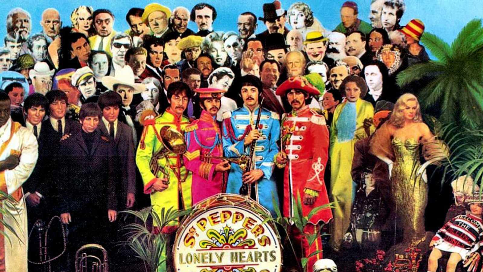 El Icónico Disco De Los Beatles Sargent Peppers Lonely Hearts Club