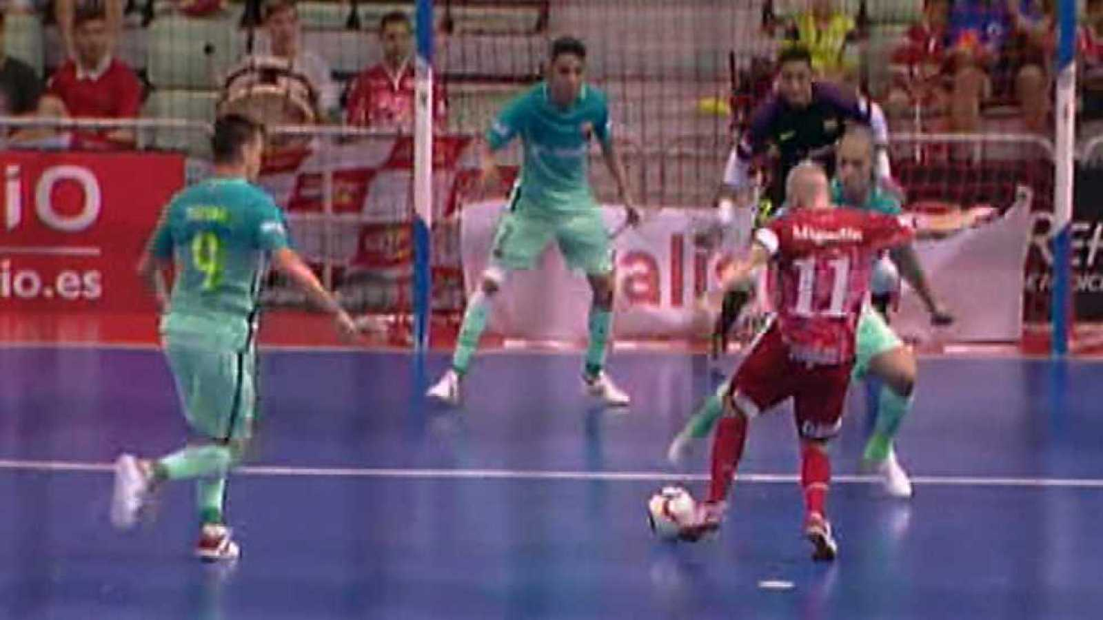 Para todos los públicos Fútbol Sala - Liga Nacional Play Off Semifinal 1º  partido  El Pozo Murcia-FC reproducir video 199ec3ff7c26e