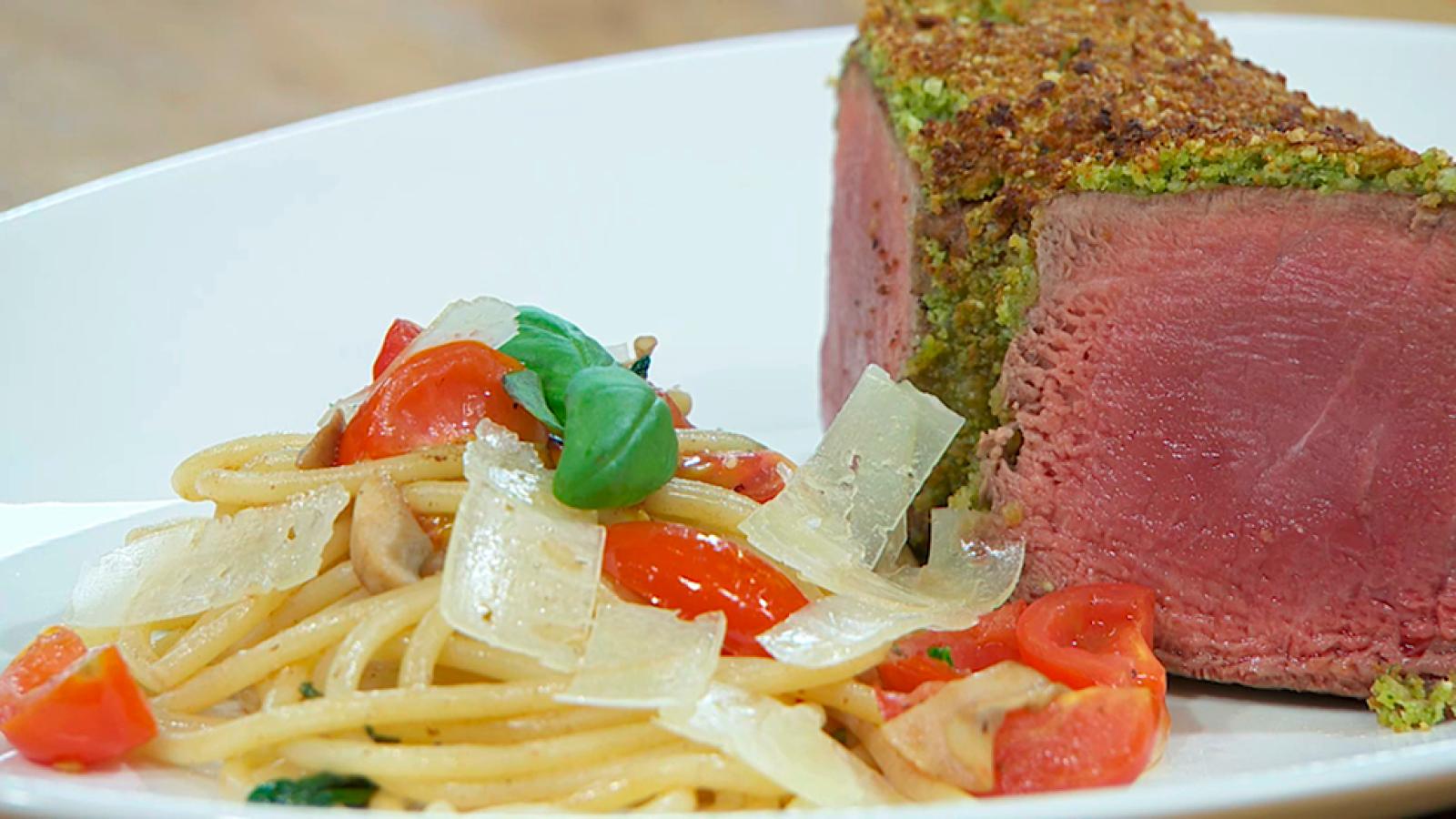 En La Cocina Solomillo De Ternera Al Pesto ~ Solomillo Wellington Masterchef Receta