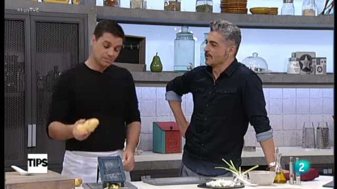 Www Rtve Cocina Con Sergio | Tips La Cocina De Sergio El Reto Patatas Paja Con Bacalao