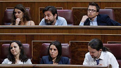 El Congreso rechaza la moción de censura de Podemos a Rajoy
