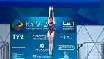 Natación - Saltos 'Campeonato de Europa'. Final 3MT Femenino desde Kiev (Ucrania)