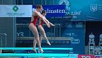 Natación - Saltos 'Campeonato de Europa'. Final 3MT Sincro Femenino  desde Kiev (Ucrania)