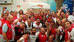 El equipo de TVE desplegado en San Fermín 2017 se despide