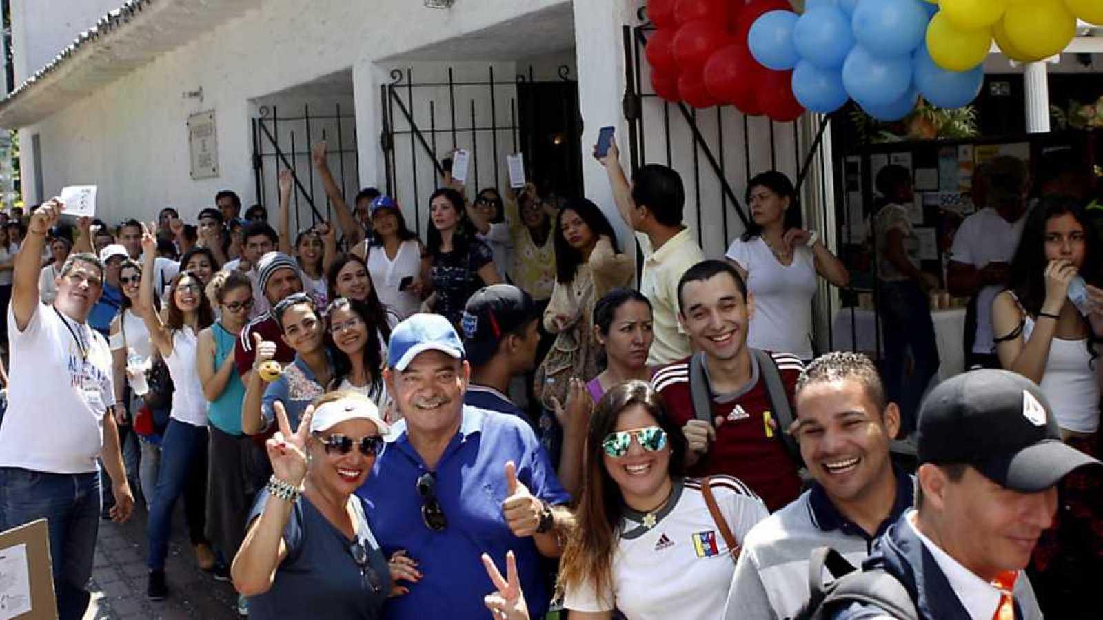 Unos 4.000 venezolanos estaban llamados a votar en Canarias