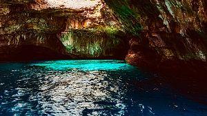 Un valle de pobladores paleolíticos bajo el agua
