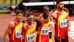 El relevo español 4x400 por tercera vez en una final mundial