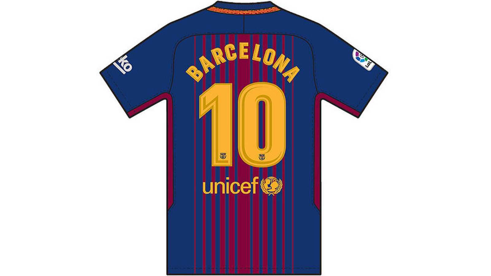Para todos los públicos El Barça lucirá una camiseta en homenaje a las  víctimas de los atentados de Barcelona reproducir video 3cf2fde8eb4