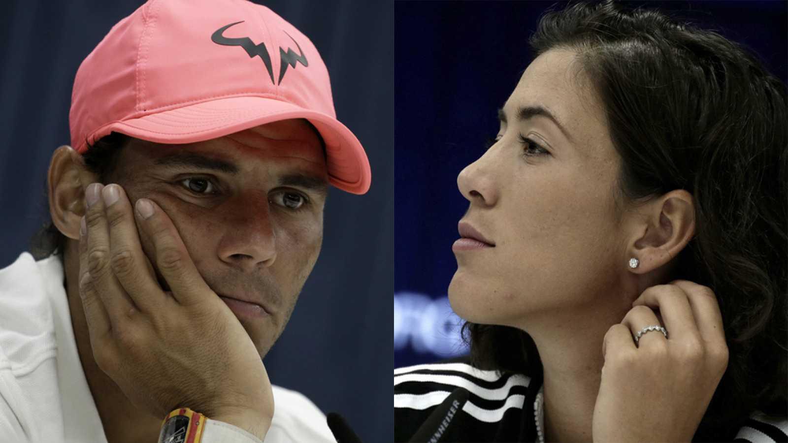Nadal y Muguruza valoran la situación del circuito antes del US Open ...