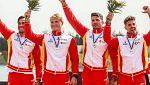 España consigue un oro y dos platas en el Mundial de sprint piragüismo