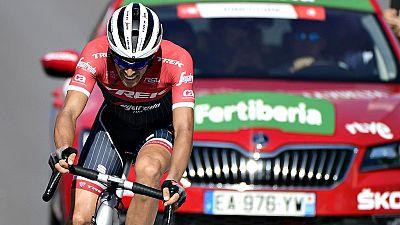 El ciclista polaco Tomasz Marczynski (Lotto Soudal) ha certificado  su doblete en esta Vuelta a España tras apuntarse el triunfo en la  duodécima etapa, un recorrido de 160.1 kilómetros entre Motril y  Antequera en el que Chris Froome (Sky) ha perdid