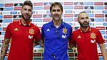 Fútbol - Rueda de prensa Julen Lopetegui. Seleccionador español