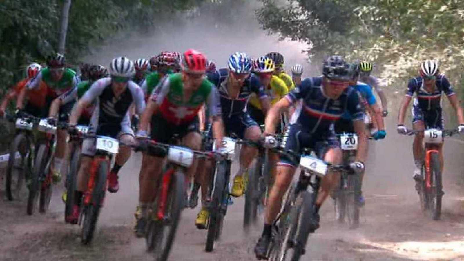 Circuito Xco Moralzarzal : Mountain bike campeonato del mundo. prueba cross country Élite