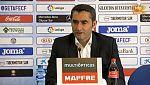 """Valverde: """"Hemos demostrado capacidad de reacción"""""""