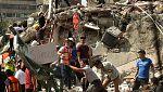 Caos en México tras un fuerte terremoto de magnitud 7,1 en el centro del país