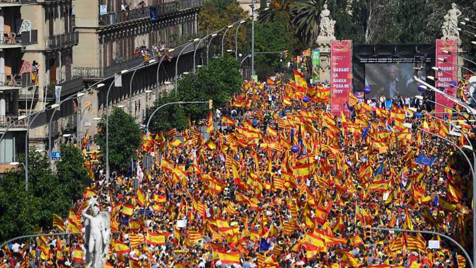 13f82f22a7fb Especiales informativos - Manifestación en Barcelona - 08/10/17