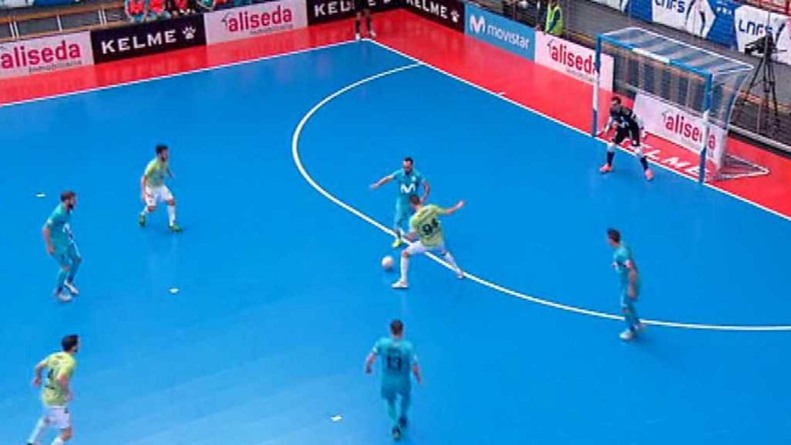 F tbol sala liga nacional 6 jornada movistar inter for Federacion de futbol sala