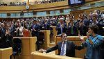 El Senado da luz verde a la aplicación del artículo 155 en Cataluña