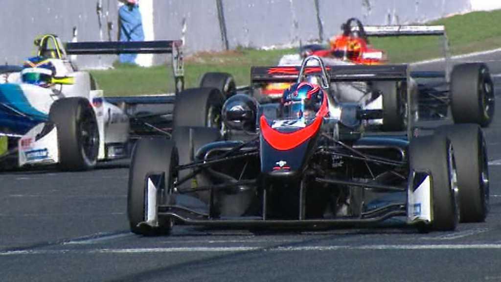 Circuito Montmelo : Automovilismo eurofórmula open ª carrera desde circuito