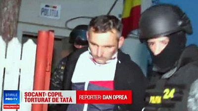 La policía detiene en Rumanía a un hombre acusado de extorsionar a su expareja, y torturar al hijo de ambos.