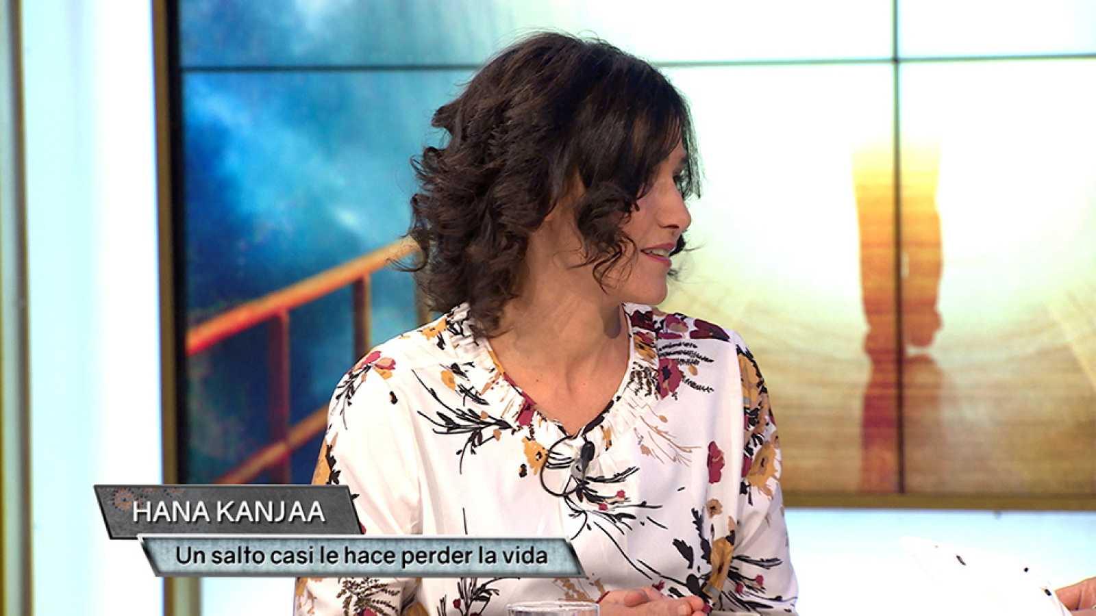 Hana Kanjaa estuvo a punto de perder la vida tras un accidente ...