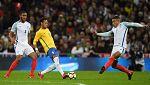Fútbol - Amistoso Internacional: Inglaterra - Brasil