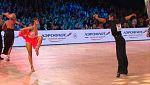 Bailes deportivos - Grand Slam Latino. Prueba Moscú
